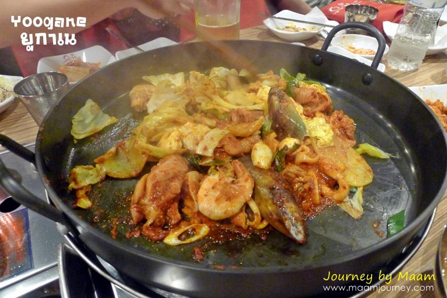 ยูกาเน_Seafood and Chicken Galbi_2