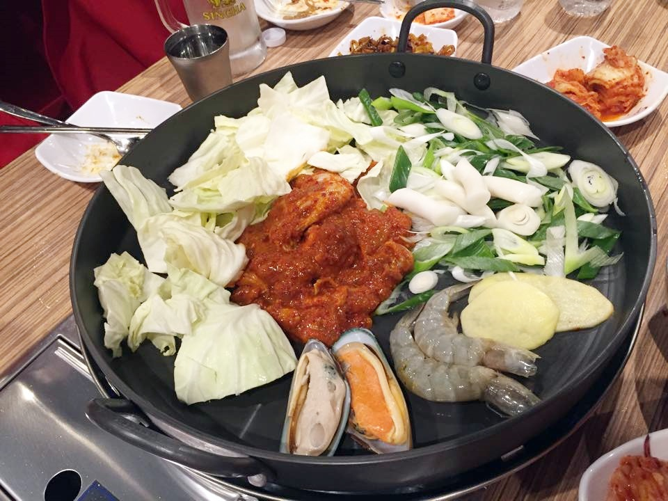 Yoogane_ยูกาเน_Seafood and chicken galbi_2