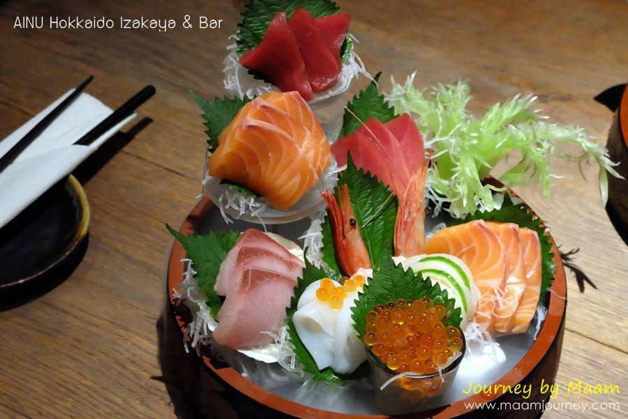 AINU_Assorted Sashimi 9 Kinds