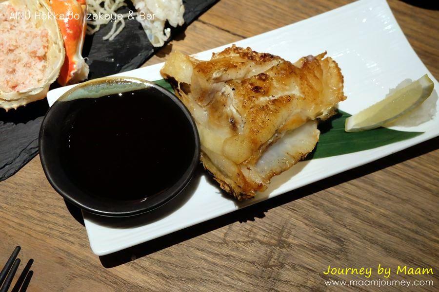 AINU_Charcoal Grilled Tara Kama