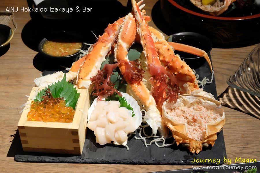 AINU_Hokkaido Seafood Plate_1