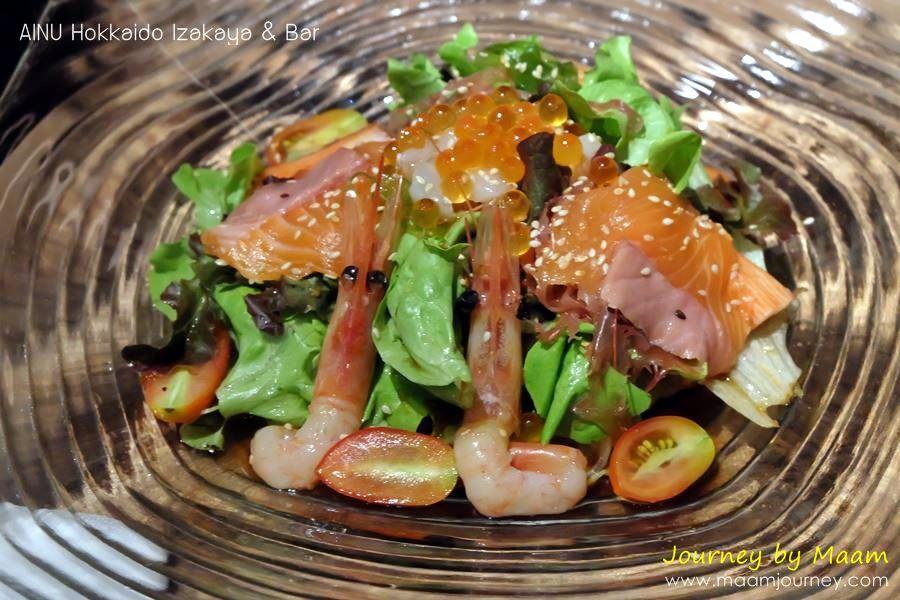 AINU_Sashimi Salad