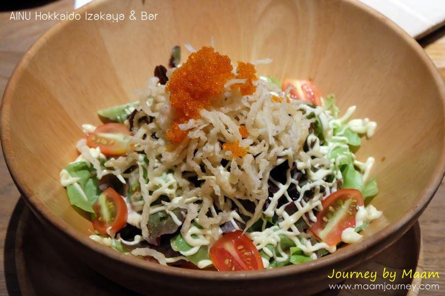 AINU_Shirauo Salad