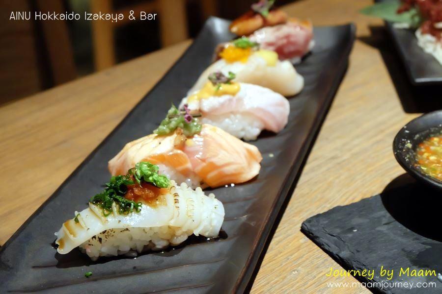 AINU_Sushi Aburi