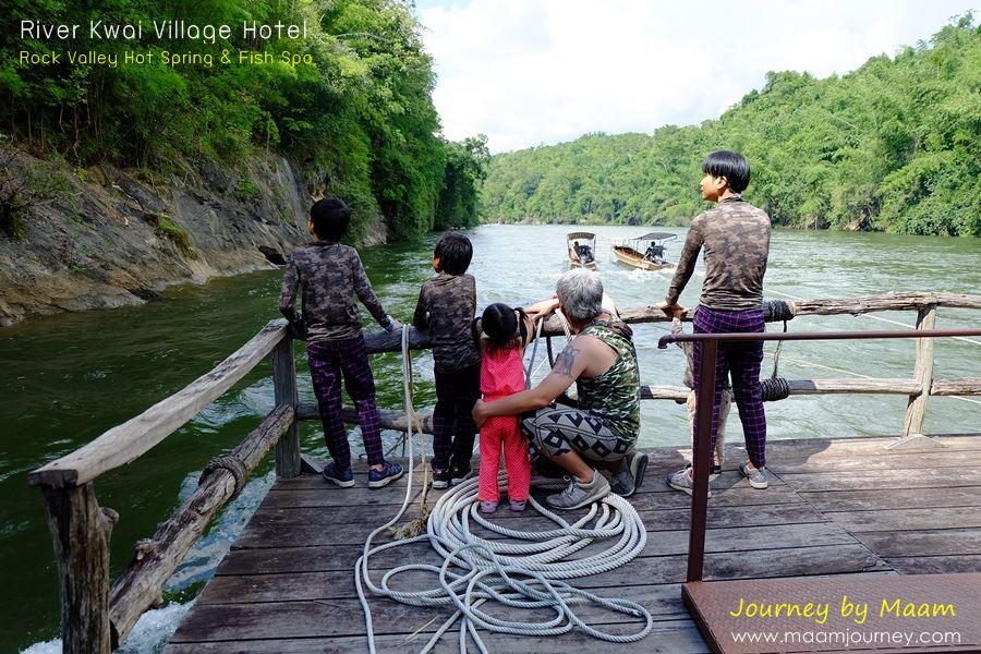 River Kwai Village_ล่องแพชมทิวทัศน์