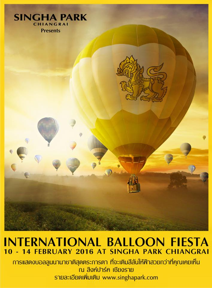 International Balloon Fiesta Singha Park Chiangrai