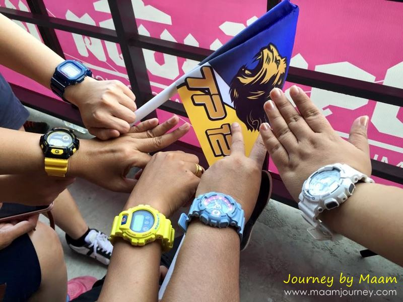 TP12 Racing Team_G-Shock Collector_Cheer