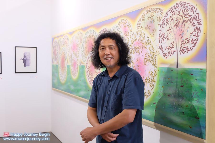 สมพงษ์ สารทรัพย์_Art Exhibition Thailand China Relations