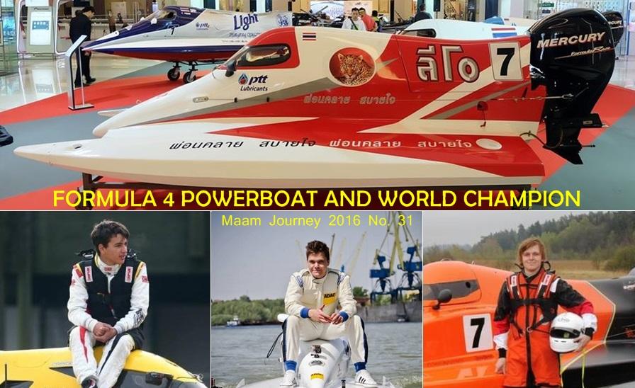 Formula 4 PowerBoat_World Champion