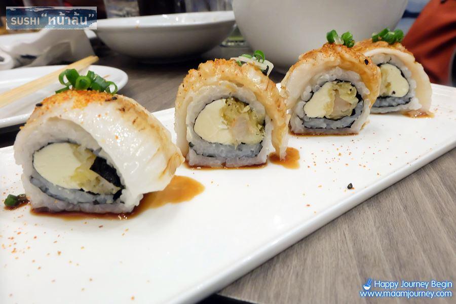 Sushi หน้าล้น_ENGAWA ROLL