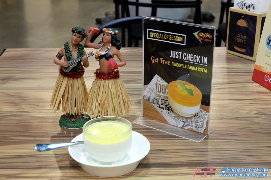 Get Free Pineapple Panna Cotta