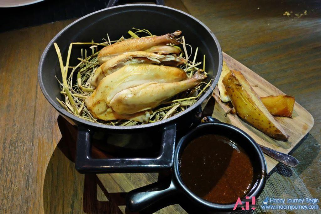 Rotisserie Baby Chicken on Hay_2