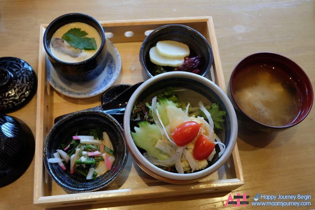 Lunch Set_Appitizer_Chawanmushi_Miso Shiru