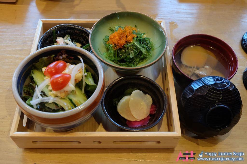 Lunch Set_Appitizer_Hiyashi Wakame_Clam Osuimono