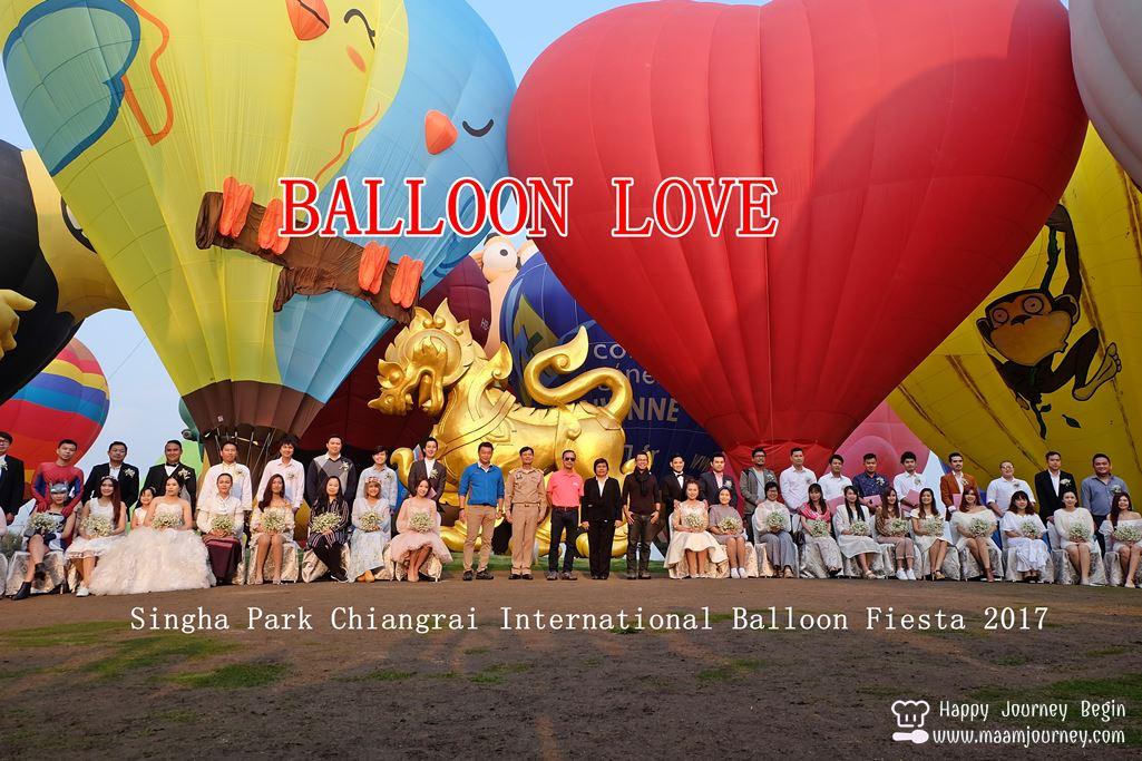 Singha Park Chiangrai International Balloon Fiesta 2017_Balloon Love