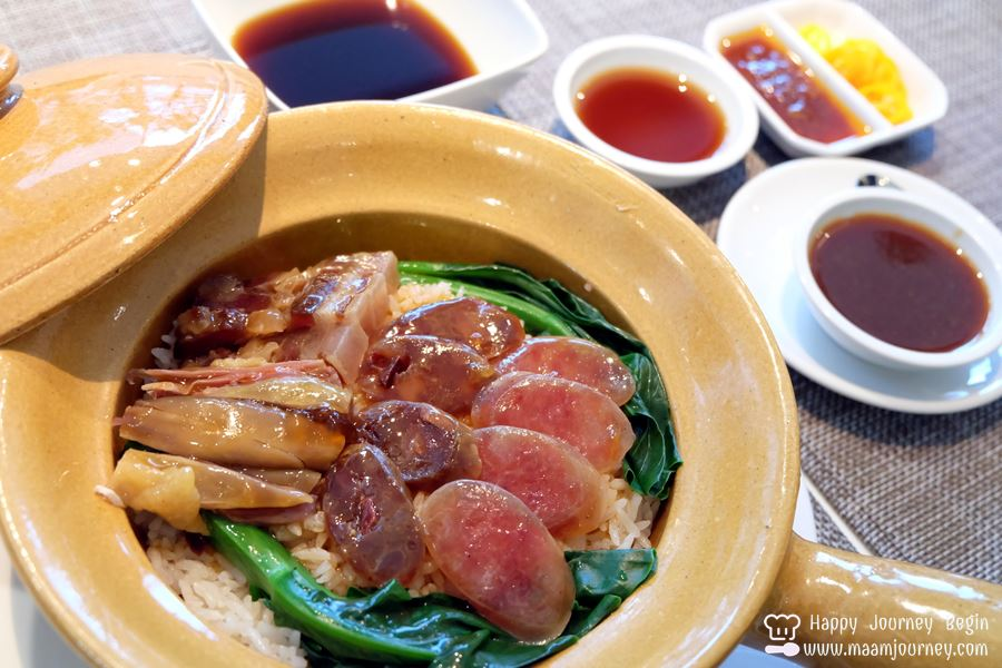 Tapesty_Baked Rice with Hong Kong Sausage in Clay Pot