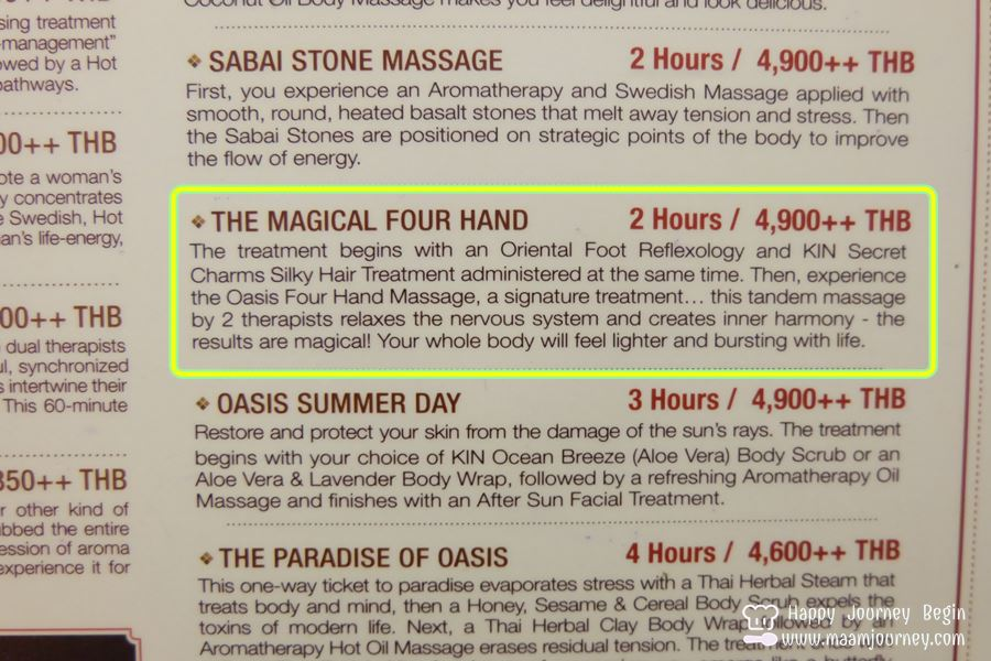 Oasis Spa_The Magical Four Hand_2