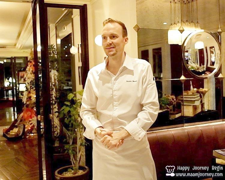 Chef Nicolas Basset