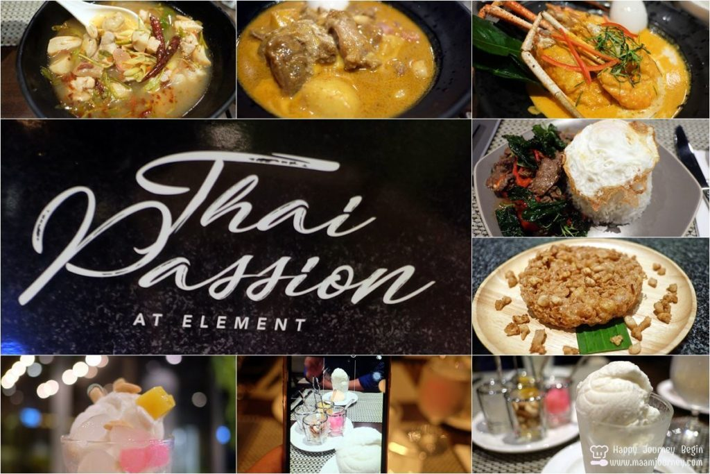 Thai Passion at Element