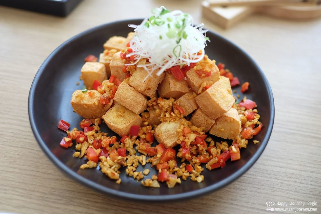 Umeno Cafe_Fried Tofu with Salt and Chilli