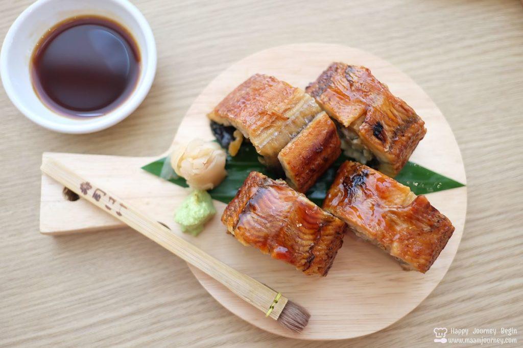 Umeno Cafe_Unagi Foie Gras Maki