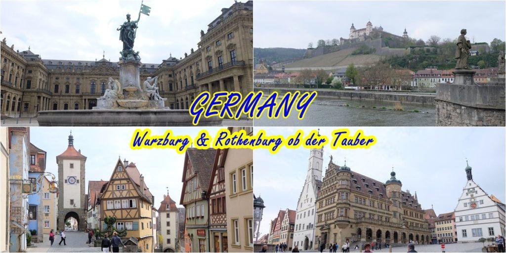 Germany_Würzburg_Rothenburg ob der Tauber