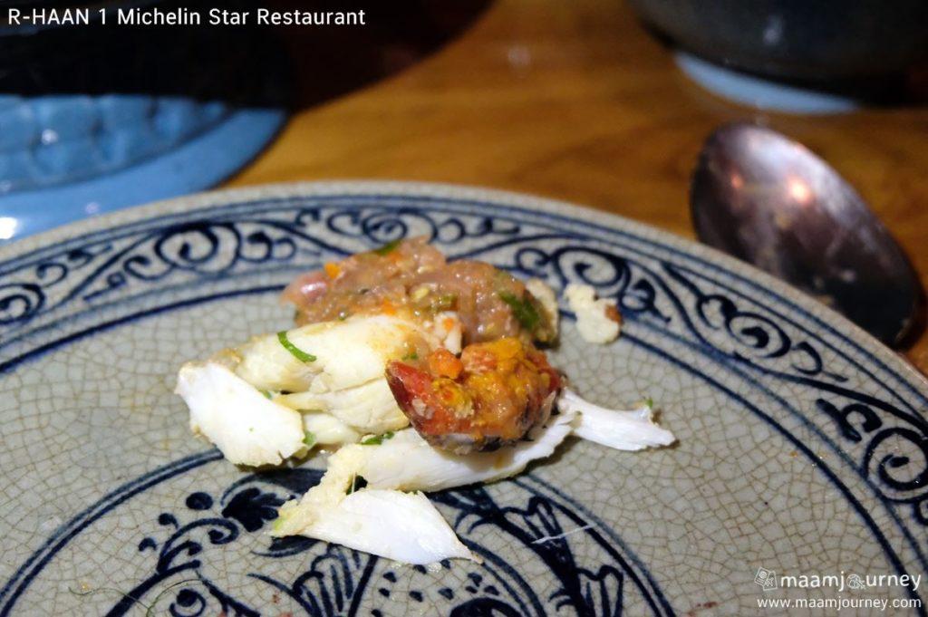 ร้านอาหาร มิชลินสตาร์ ๑ ดาว_น้ำพริกไข่ปูพริกขี้หนูสี่ภาค_3