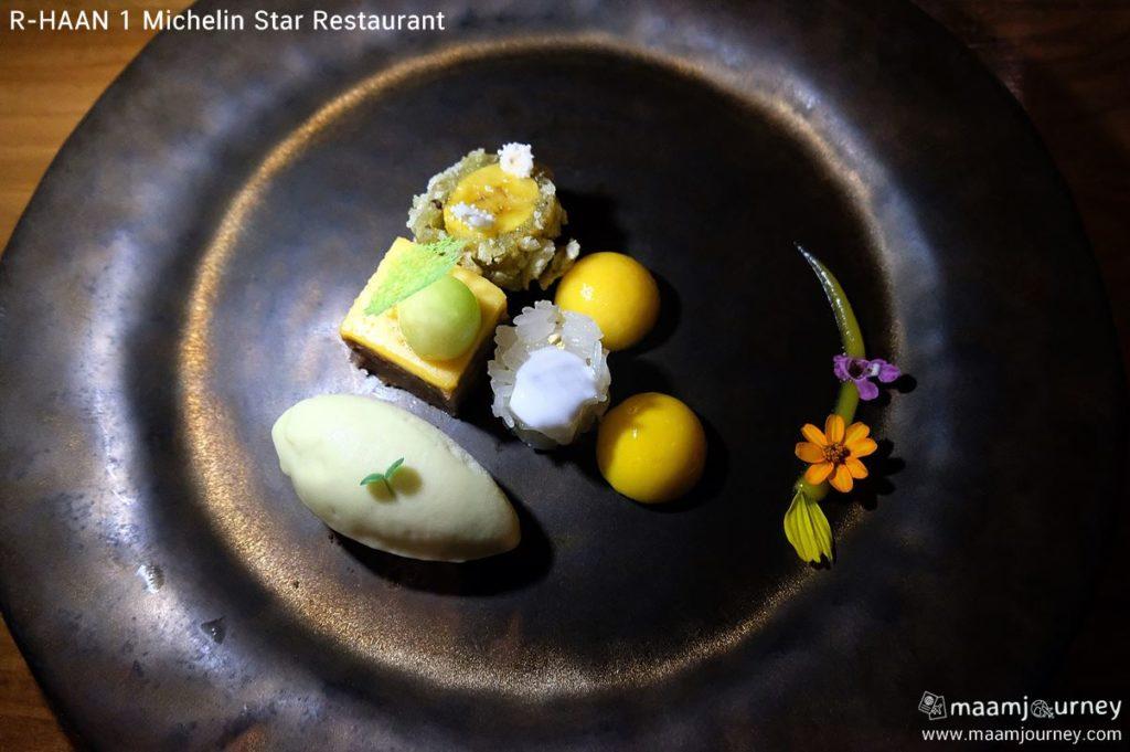 R-HAAN 1 Michelin Star Restaurant_สำรับของหวาน_1