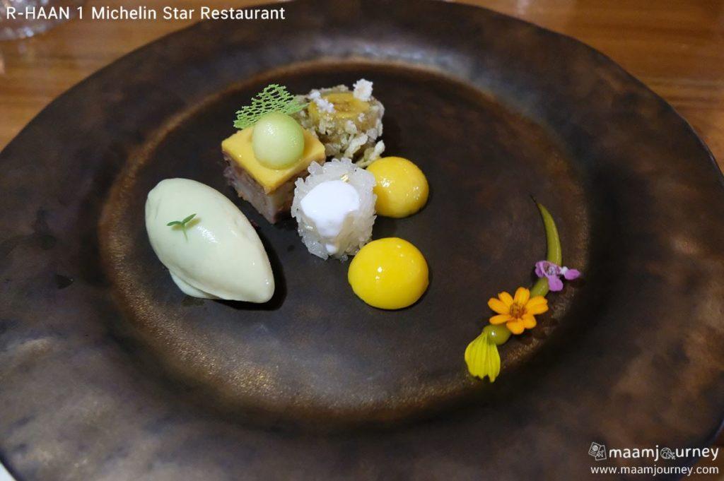 R-HAAN 1 Michelin Star Restaurant_สำรับของหวาน_2