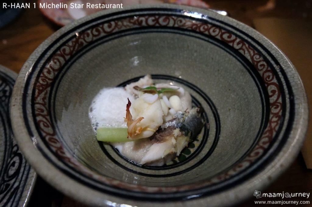 R-HAAN 1 Michelin Star Restaurant_5_สามสายกษัตริย์ต้มกะทิ