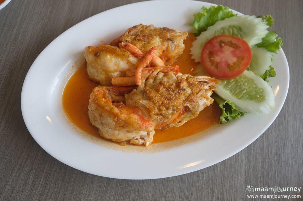 Kungthong Seafood_กุ้งทอง_กุ้งแม่น้ำทอดเกลือโบราณ_3