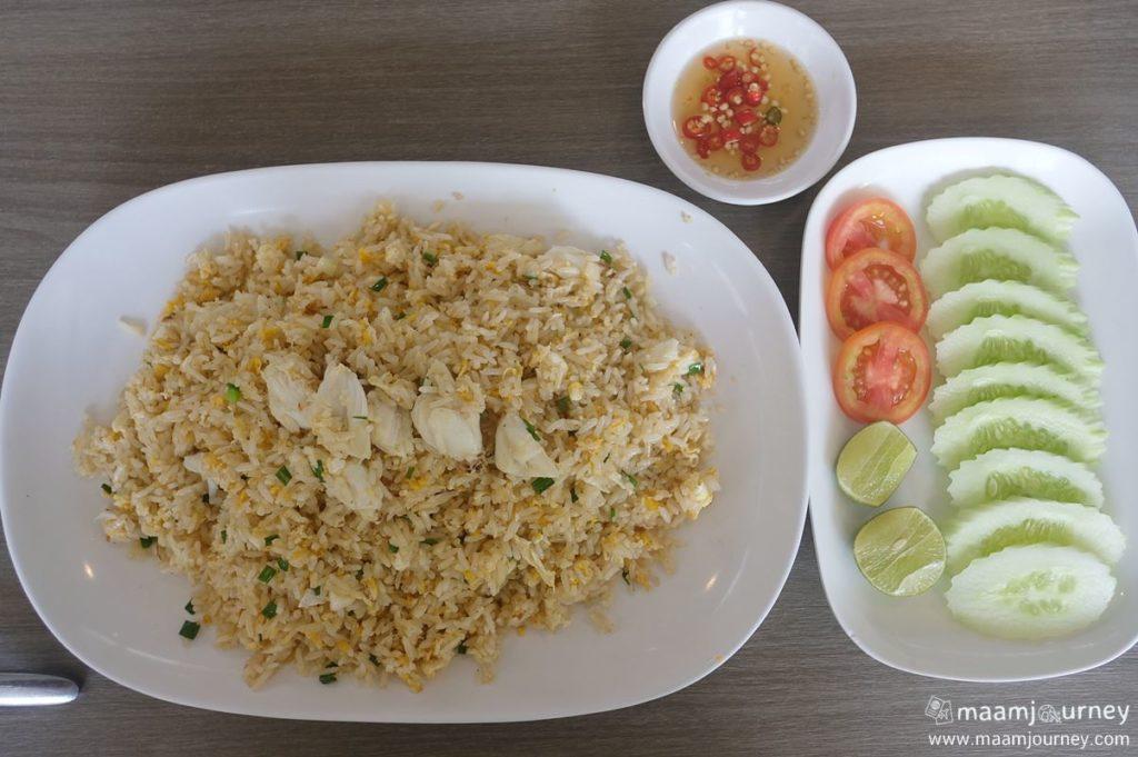 Kungthong Seafood_กุ้งทอง_ข้าวผัดปู_1
