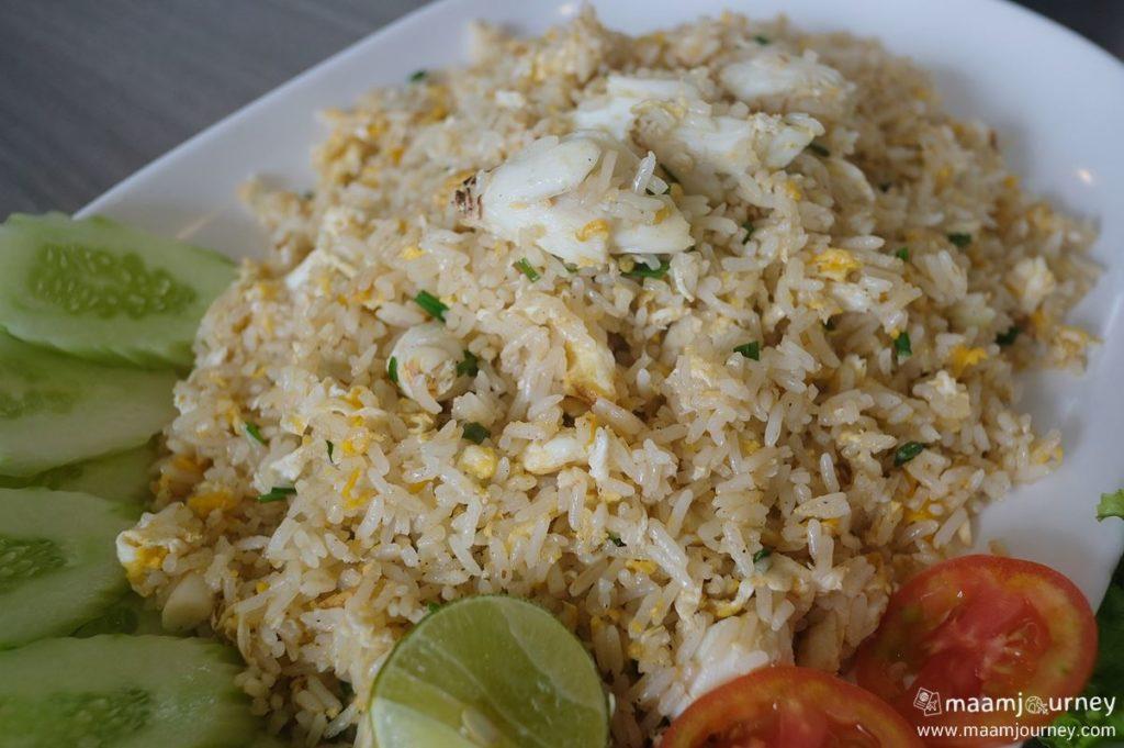 Kungthong Seafood_กุ้งทอง_ข้าวผัดปู_2