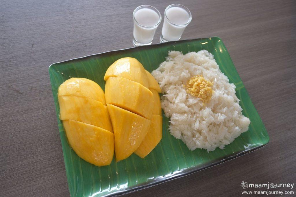 Kungthong Seafood_กุ้งทอง_ข้าวเหนียวมะม่วง_1