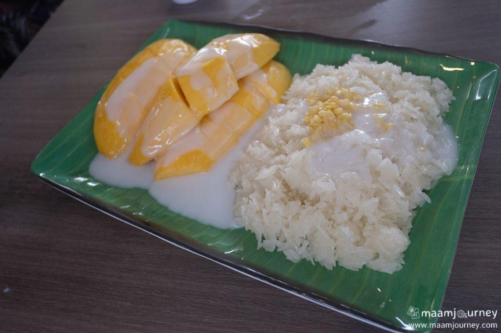 Kungthong Seafood_กุ้งทอง_ข้าวเหนียวมะม่วง_3