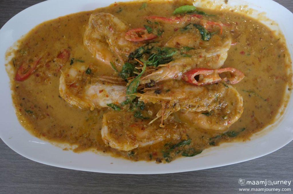 Kungthong Seafood_กุ้งทอง_ฉู่ฉี่กุ้งแชบ๊วย_2