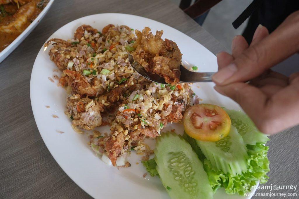 Kungthong Seafood_กุ้งทอง_ปูนิ่มผัดพริกเกลือ_2