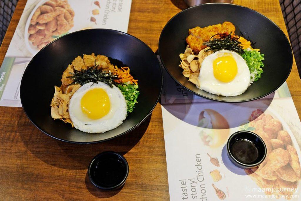 Kyochon Chicken Bibimbap_New Menu