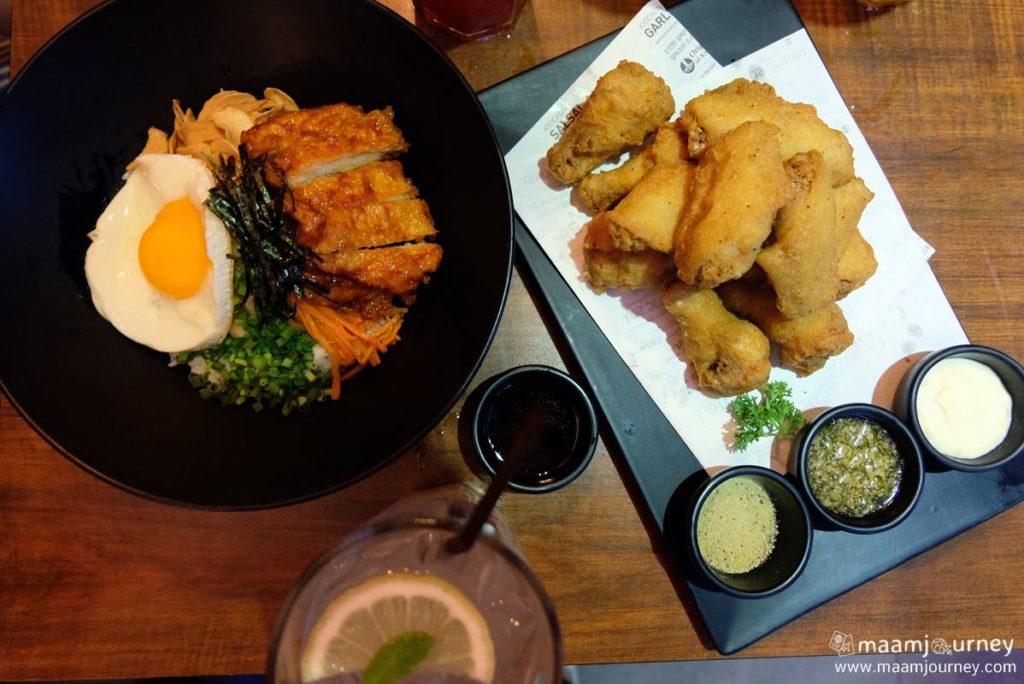 Kyochon Chicken and Bibimbap