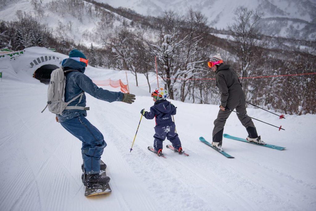 3-Ski Winter