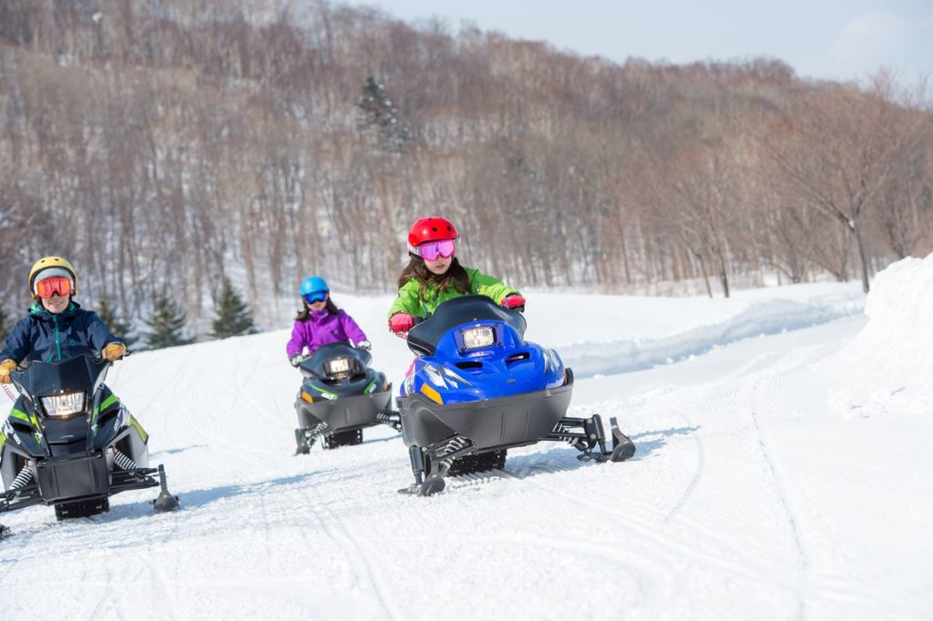 3-mini snow mobile