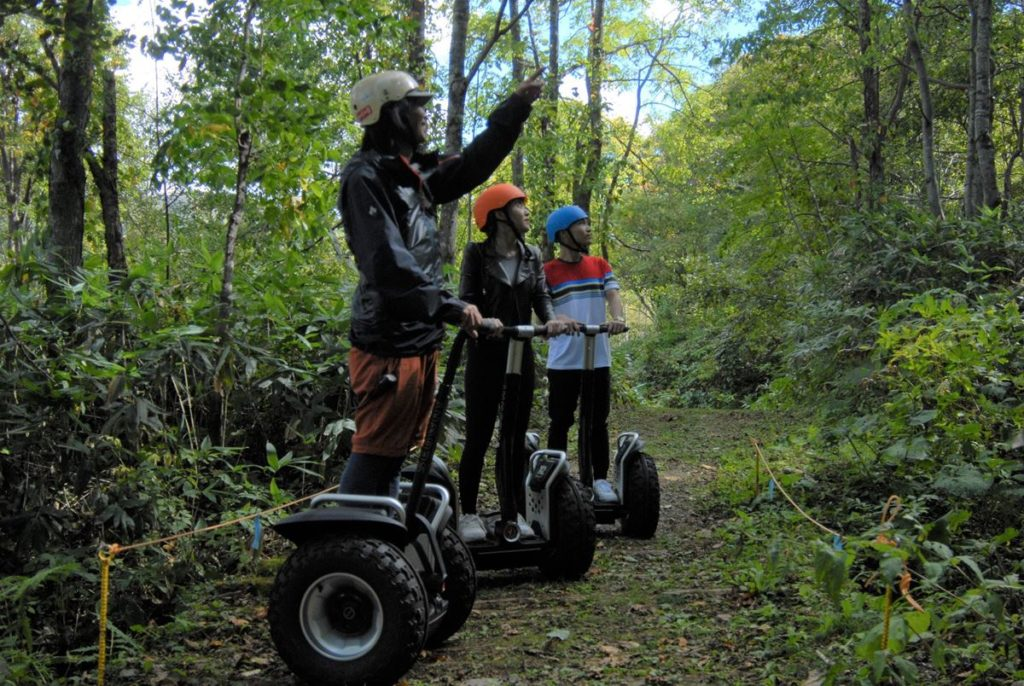 4-Summer activity -Segway