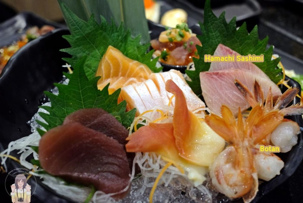 12 Kouen Sushi Bar_Botan and Hamachi Sashimi