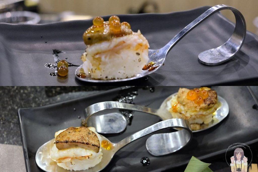 4 Kouen Sushi Bar_Botan Foie Gras Truffle
