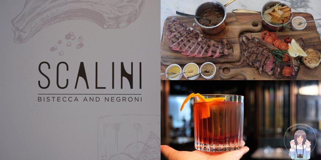 SCALINI Bistecca and Negroni