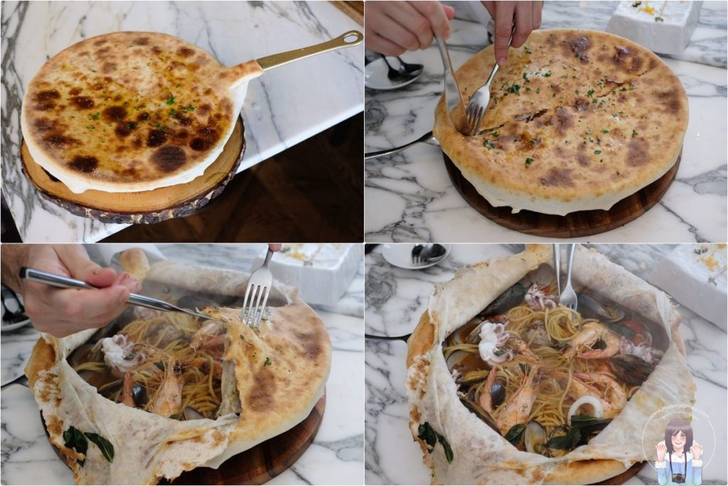 Scaline_Oven Baked Seafood Pasta