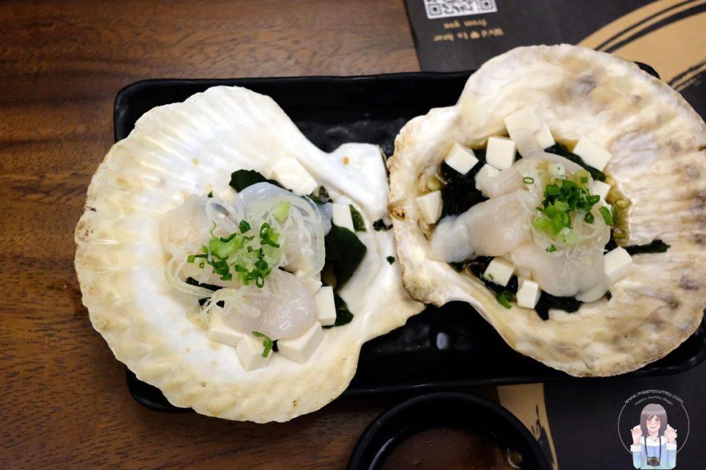 2 Kouen Sushi Bar_Hotate Sakamushi