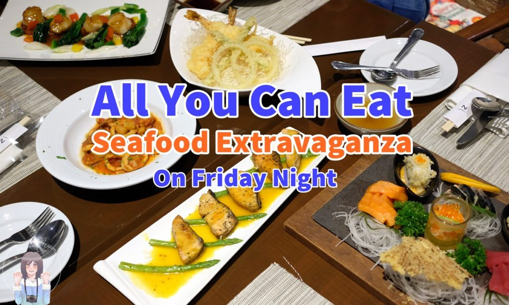 All You Can Eat Seafood Extravaganza on Friday Night
