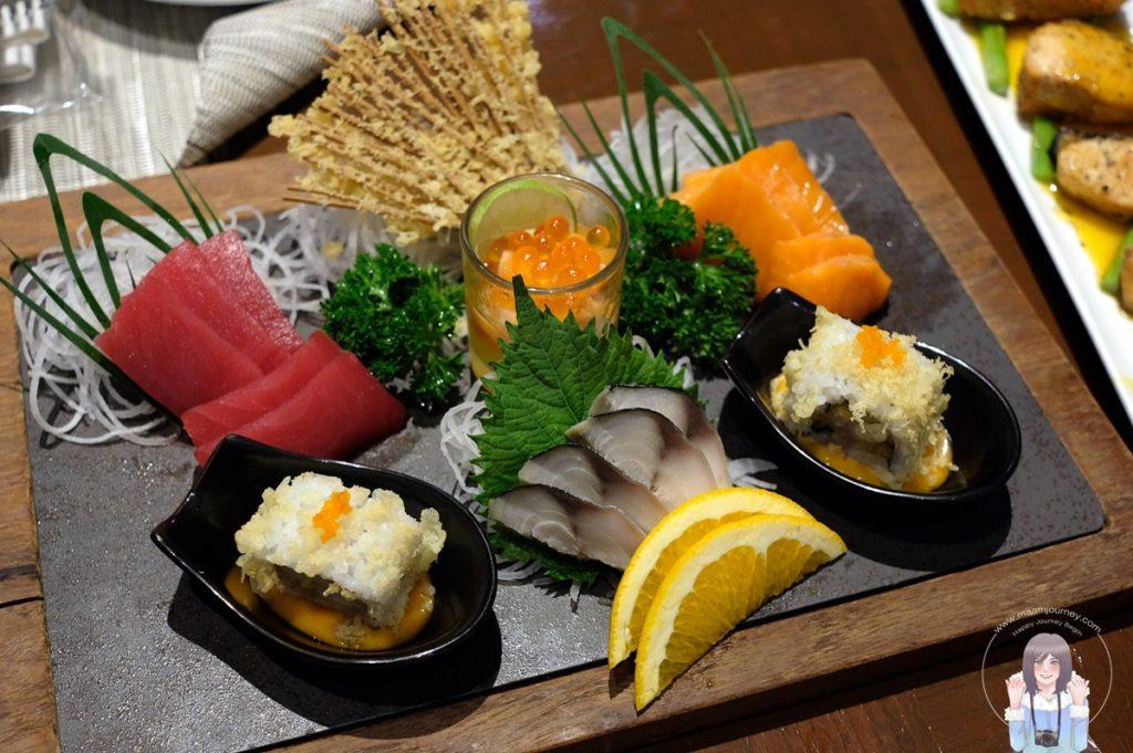 อาหารญี่ปุ่น จัดมาเป็น Set