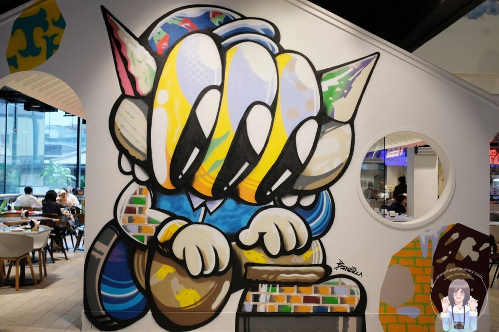 Street Art ย่านชิโนโปรตุกีส
